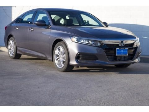 Modern Steel Metallic 2019 Honda Accord LX Sedan
