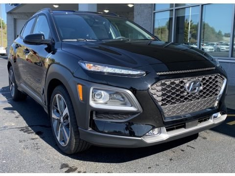 Ultra Black 2020 Hyundai Kona Ultimate AWD