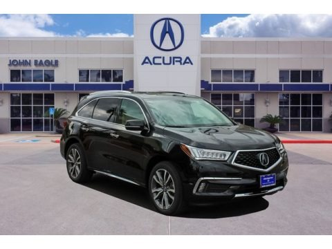Majestic Black Pearl 2019 Acura MDX Advance