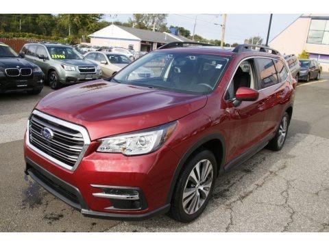 Crimson Red Pearl 2019 Subaru Ascent Premium