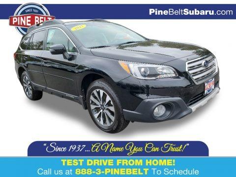 Crystal Black Silica 2017 Subaru Outback 2.5i Limited