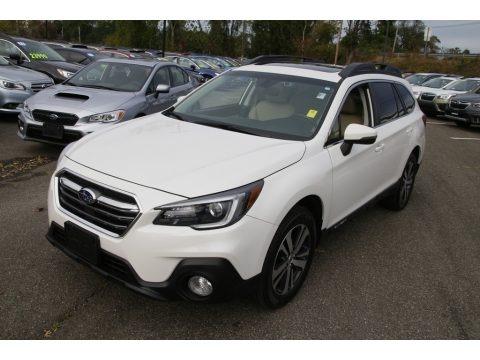 Crystal White Pearl 2018 Subaru Outback 2.5i Limited