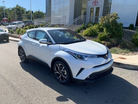 Blizzard White Pearl 2019 Toyota C-HR Limited