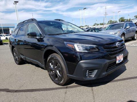 Crystal Black Silica 2020 Subaru Outback Onyx Edition XT