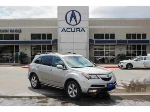 Grigio Metallic 2010 Acura MDX Technology