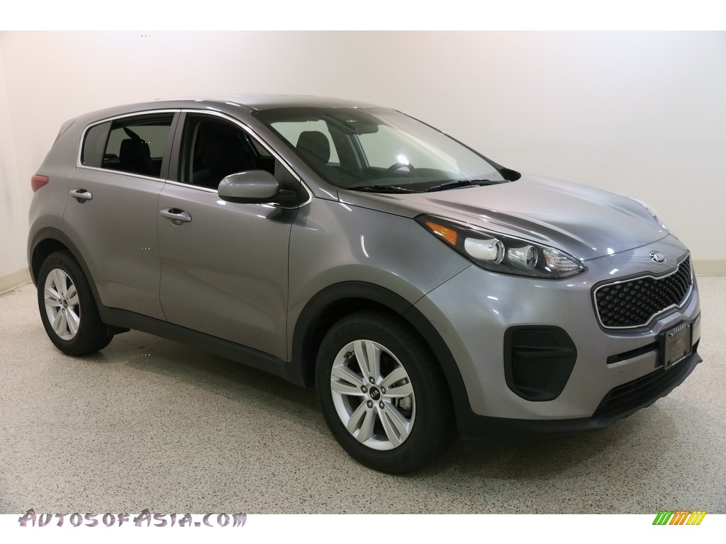 2019 Sportage LX - Mineral Silver / Black photo #1