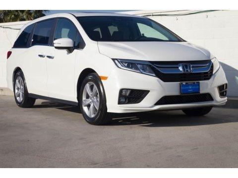 Platinum White Pearl 2020 Honda Odyssey EX-L