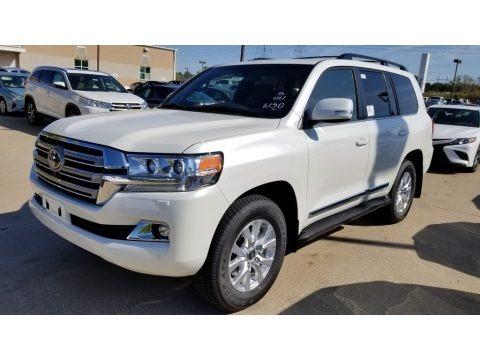 Blizzard White Pearl 2020 Toyota Land Cruiser 4WD