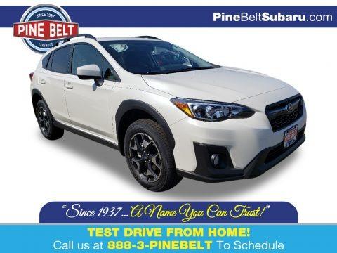 Crystal White Pearl 2019 Subaru Crosstrek 2.0i Premium