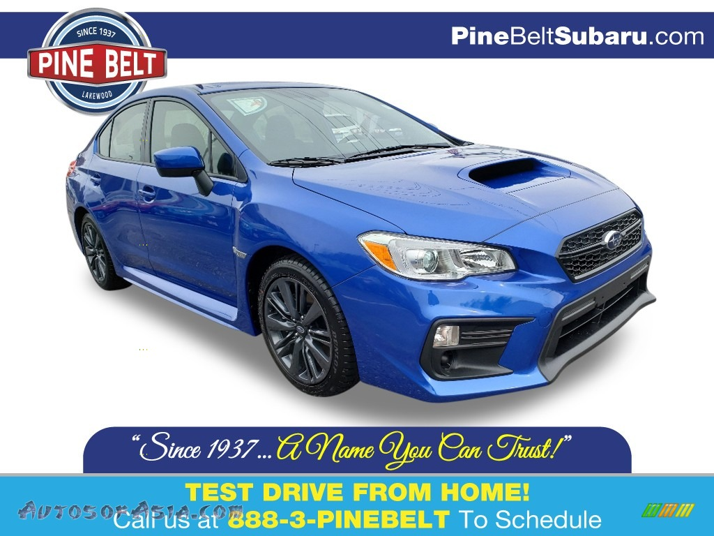 2020 WRX  - WR Blue Pearl / Carbon Black photo #1