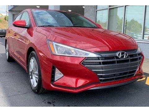 Scarlet Red Pearl 2020 Hyundai Elantra Value Edition