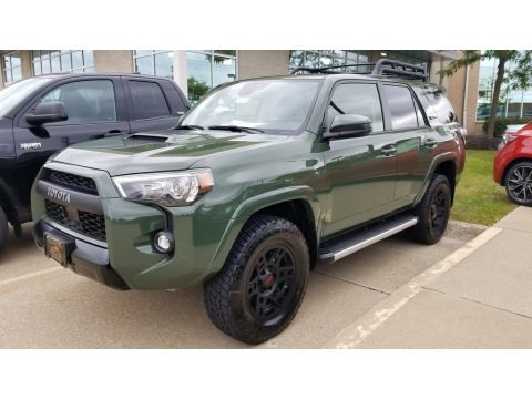 Army Green 2020 Toyota 4Runner TRD Pro 4x4