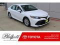 Toyota Camry LE Super White photo #1