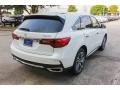 Acura MDX Technology Platinum White Pearl photo #7