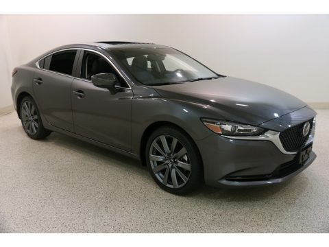 Machine Gray Metallic 2019 Mazda Mazda6 Grand Touring