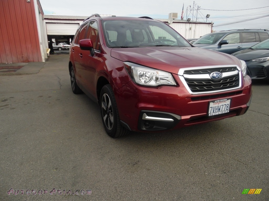 2017 Forester 2.5i Premium - Venetian Red Pearl / Gray photo #1