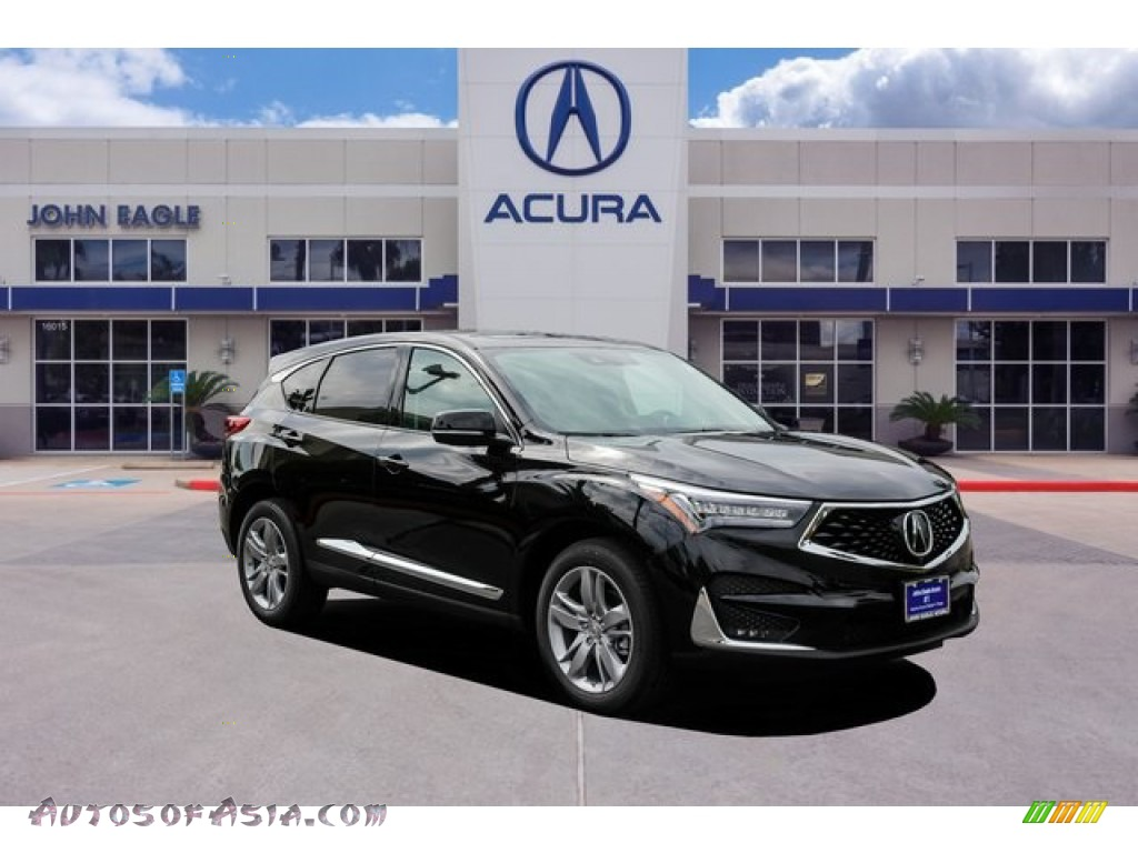 2020 RDX Advance AWD - Majestic Black Pearl / Ebony photo #1