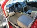 Toyota Camry Hybrid LE Barcelona Red Metallic photo #11