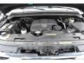 Nissan Titan LE Crew Cab 4x4 Galaxy Black photo #9