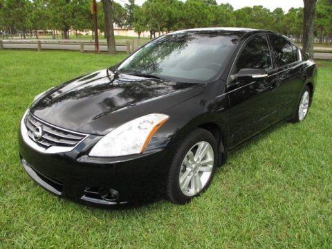 Super Black 2011 Nissan Altima 3.5 SR
