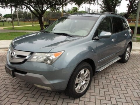 Sterling Gray Metallic 2008 Acura MDX