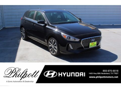 Black Noir Pearl 2020 Hyundai Elantra GT