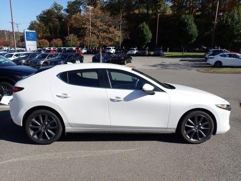 Snowflake White Pearl Mica 2019 Mazda MAZDA3 Hatchback Preferred AWD
