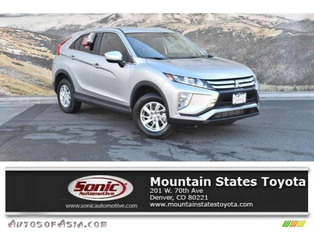 Alloy Silver Metallic / Black Mitsubishi Eclipse Cross ES S-AWC