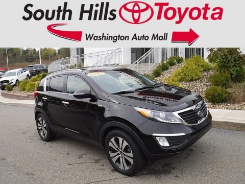 Black Cherry 2011 Kia Sportage EX AWD