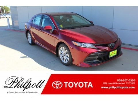 Ruby Flare Pearl 2020 Toyota Camry LE