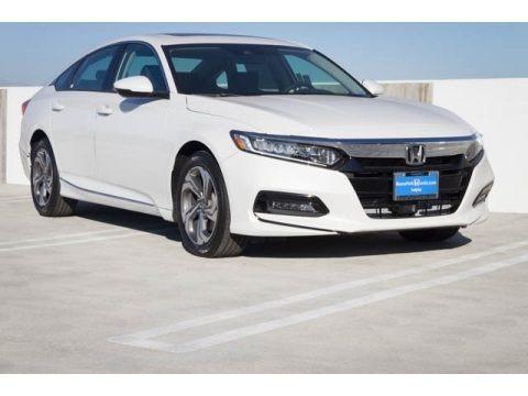 Platinum White Pearl 2020 Honda Accord EX-L Sedan