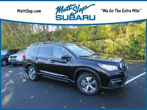 Crystal Black Silica 2019 Subaru Ascent Premium