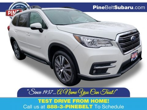 Crystal White Pearl 2020 Subaru Ascent Limited