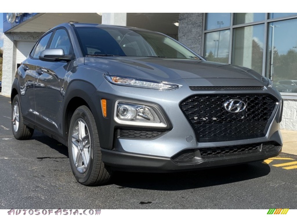 2020 Kona SE AWD - Sonic Silver / Black photo #1