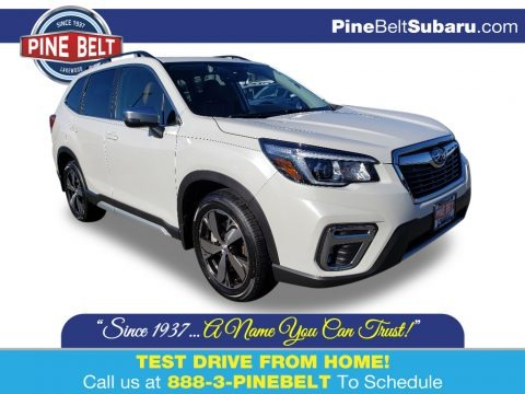 Crystal White Pearl 2020 Subaru Forester 2.5i Touring