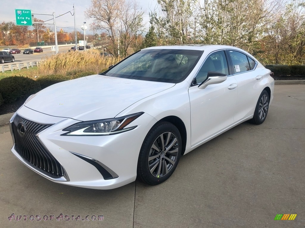 2020 ES 350 - Eminent White Pearl / Circuit Red photo #1