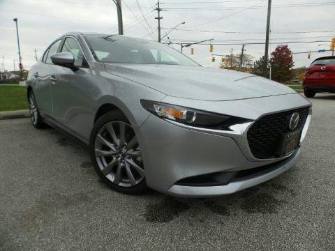 Sonic Silver Metallic 2020 Mazda MAZDA3 Select Sedan