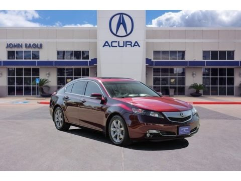 Basque Red Pearl II 2014 Acura TL Technology