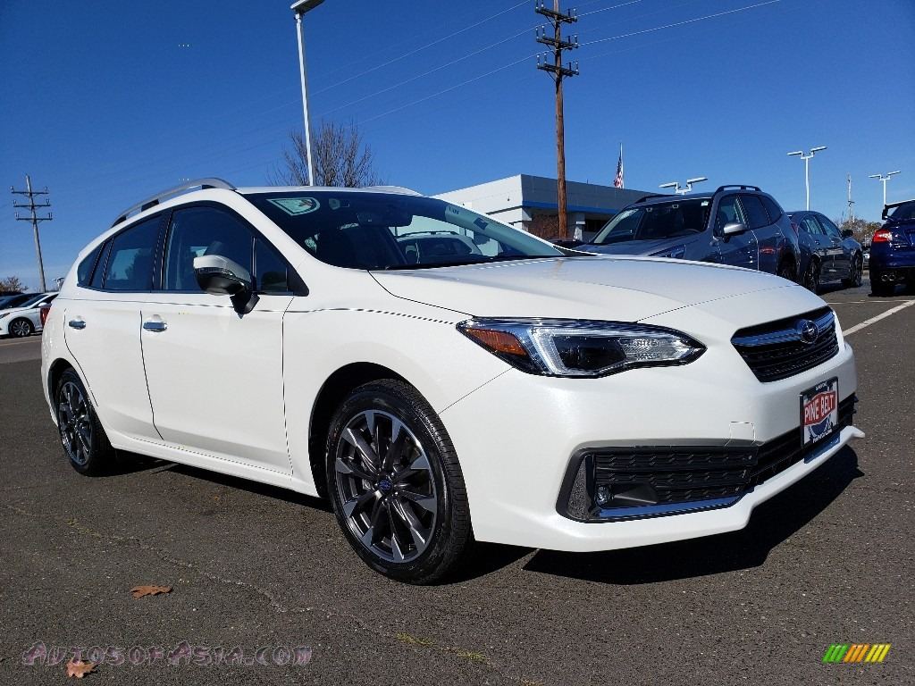 2020 Impreza Limited 5-Door - Crystal White Pearl / Black photo #1