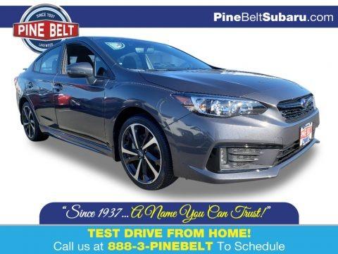 Magnetite Gray Metallic 2020 Subaru Impreza Sport Sedan