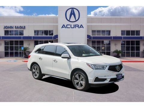 White Diamond Pearl 2017 Acura MDX