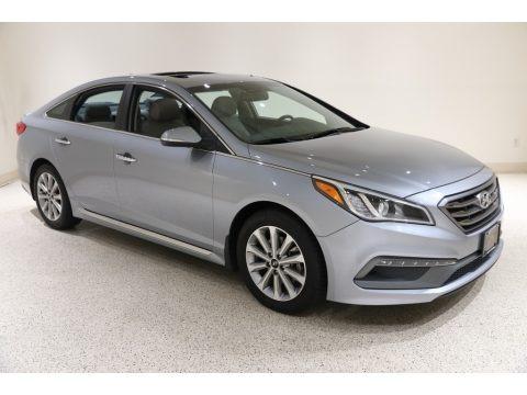 Shale Gray Metallic 2017 Hyundai Sonata Limited
