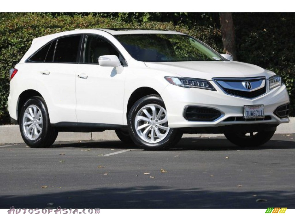 White Diamond Pearl / Ebony Acura RDX Technology