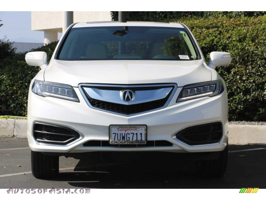 2017 RDX Technology - White Diamond Pearl / Ebony photo #4