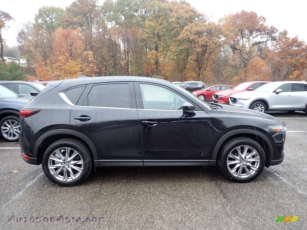 Jet Black Mica / Black Mazda CX-5 Grand Touring AWD