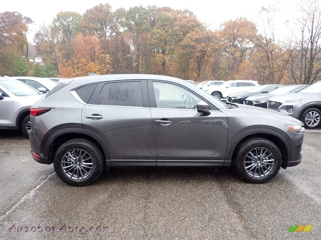 2019 CX-5 Touring AWD - Machine Gray Metallic / Black photo #1