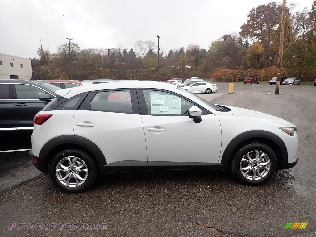 2019 CX-3 Sport AWD - Snowflake White Pearl Mica / Black photo #1