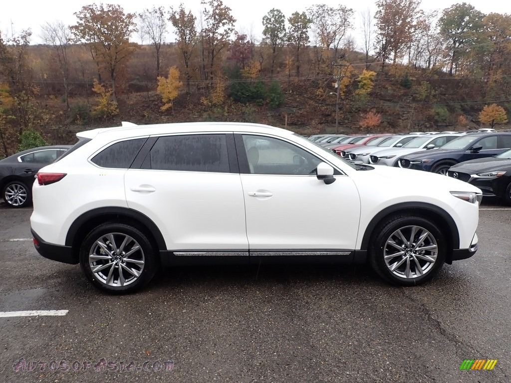 2019 CX-9 Grand Touring AWD - Snowflake White Pearl Mica / Sand photo #1