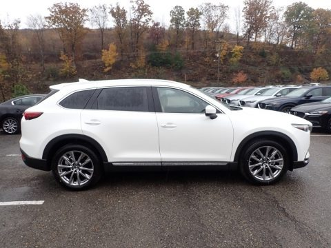 Snowflake White Pearl Mica 2019 Mazda CX-9 Grand Touring AWD