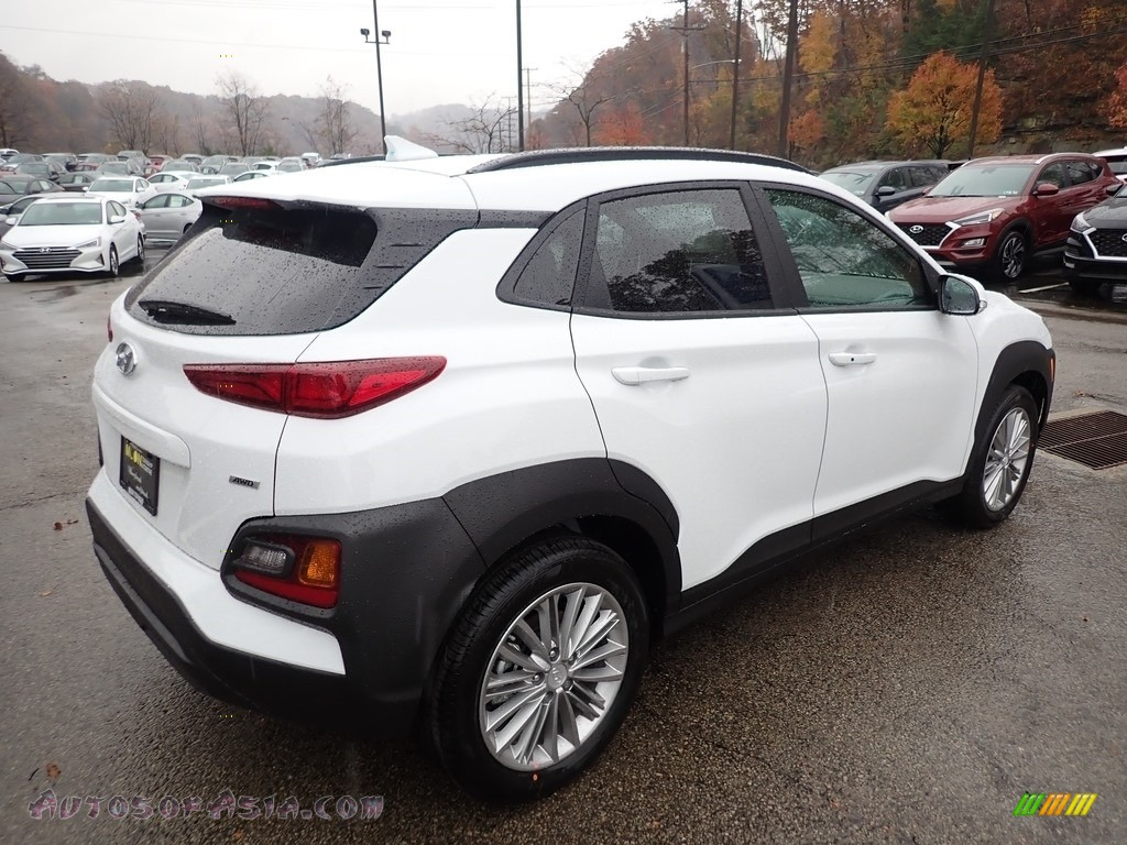 2020 Kona SEL AWD - Chalk White / Black photo #2